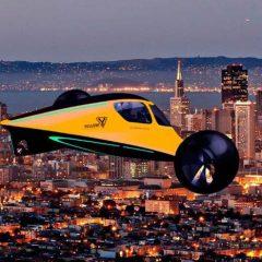Proyectan el auto volador, una revolución para el turismo de lujo