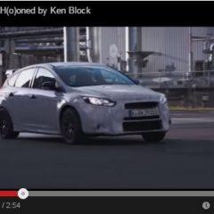 Nuevo Ford Focus RS conducido por Ken Block