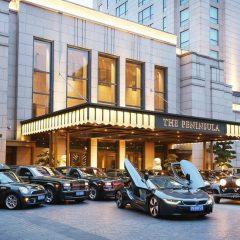 El hotel The Peninsula de Shangái añade un BMW i8 a su flota.