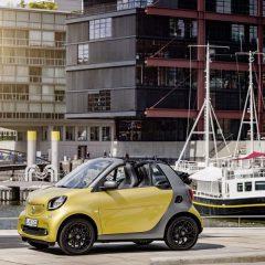 Smart ha facilitado las primeras fotos del nuevo Smart Cabrio realizado sobre la base del ForTwo.
