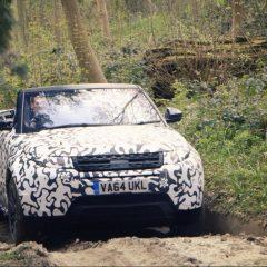Último test todoterreno del Range Rover Evoque Convertible