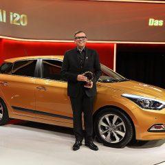 """La Nueva Generación del Hyundai i20 recibe el prestigioso premio  """"Golden Steering Wheel 2015"""""""