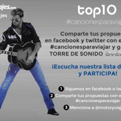 TOP10 Motor y Viajes #cancionesparaviajar