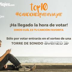VOTACIÓN concurso #cancionesparaviajar