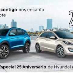 25 Aniversario de Hyundai en España