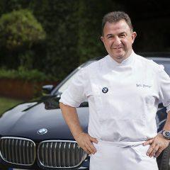 Martín Berasategui celebra el 100 Aniversario de BMW con un nuevo plato