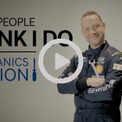¿Cómo crees que es el trabajo de un mecánico del WRC?