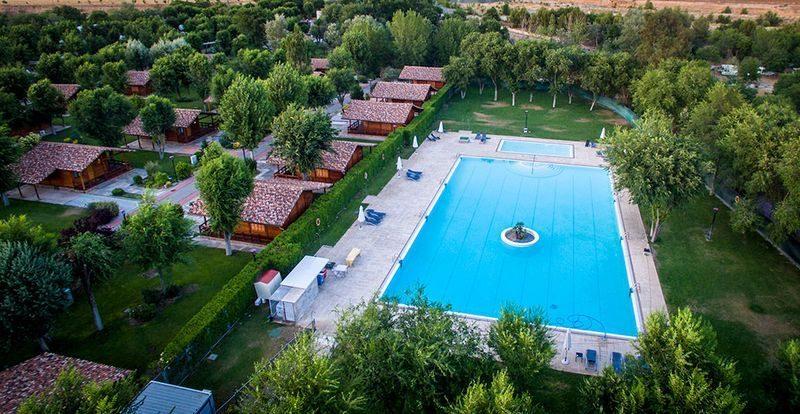 Piscina del Complejo La Cigüeña, donde se celebrara el Madrid Summer Meeting