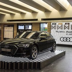 El nuevo Audi A8, el gran protagonista en el Festival de San Sebastián