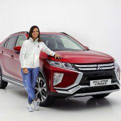 Cristina Gutiérrez ya conduce el nuevo Mitsubishi Eclipse Cross