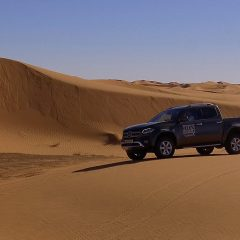 Mercedes Clase X, coche oficial de la Titan Desert by Garmin