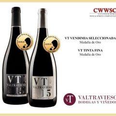 La gama VT de Valtravieso es reconocida con dos oros en el CWWSC