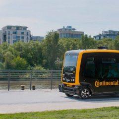 Continental presenta vehículos autónomos de reparto