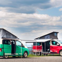 Nissan Camper, una apuesta por los viajes con la casa a cuestas