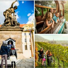 Descubrir en familia Praga y Moravia del Sur