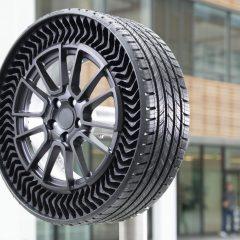 Uptis, el neumático del futuro