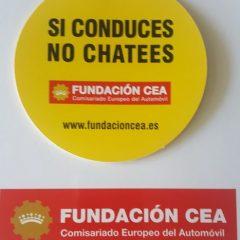 """Fundación CEA presenta la campaña """"Si conduces, no chatees"""""""