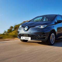 Retoques en el Renault Zoe
