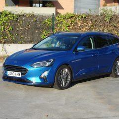 Prueba Ford Focus Sportbreak Titanium 2.0 Ecoblue 150 CV aut.